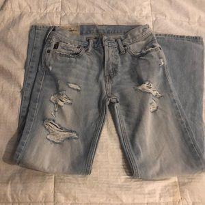 Abercrombie Kids slim fit jeans